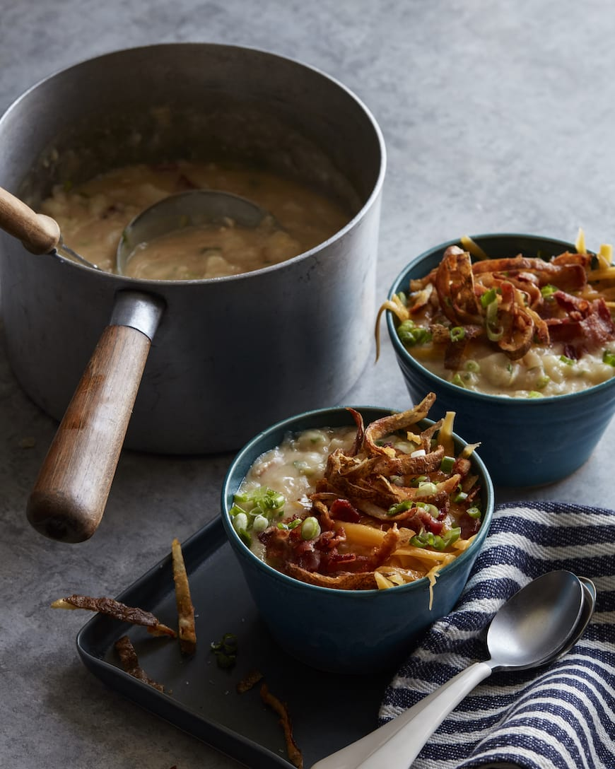 Fully Loaded Baked Potato Soup from www.whatsgabycooking.com (@whatsgabycookin)