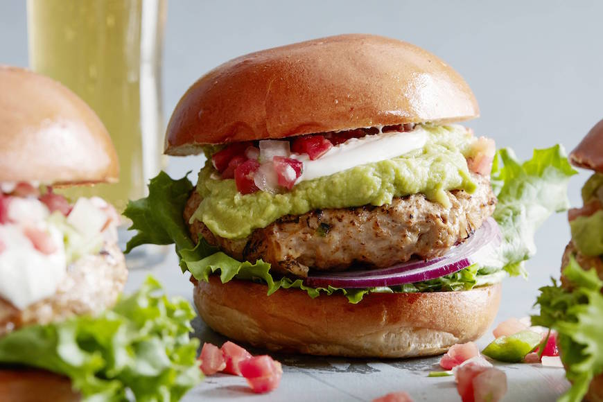 Cheddar Jalapeno Chicken Burgers from www.whatsgabycooking.com (@whatsgabycookin)