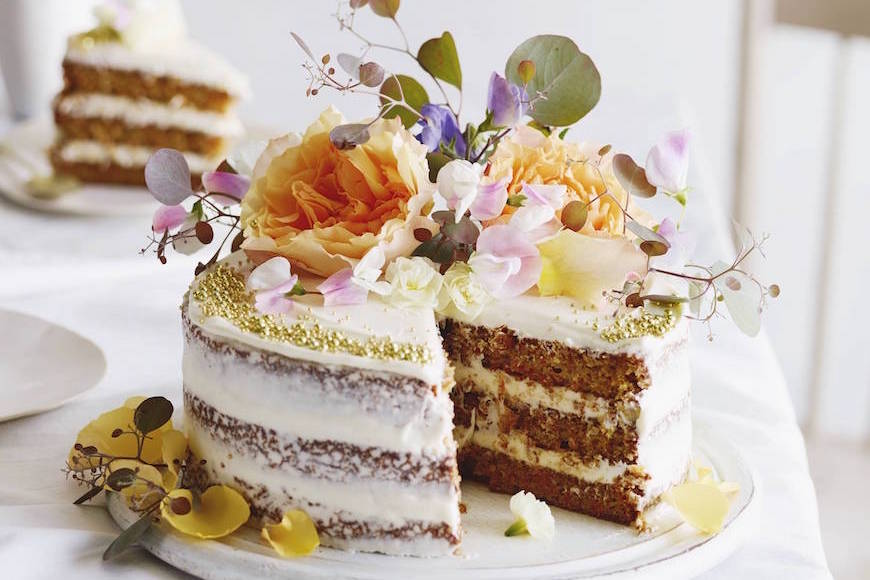 Mini Layered Carrot Pineapple Cake