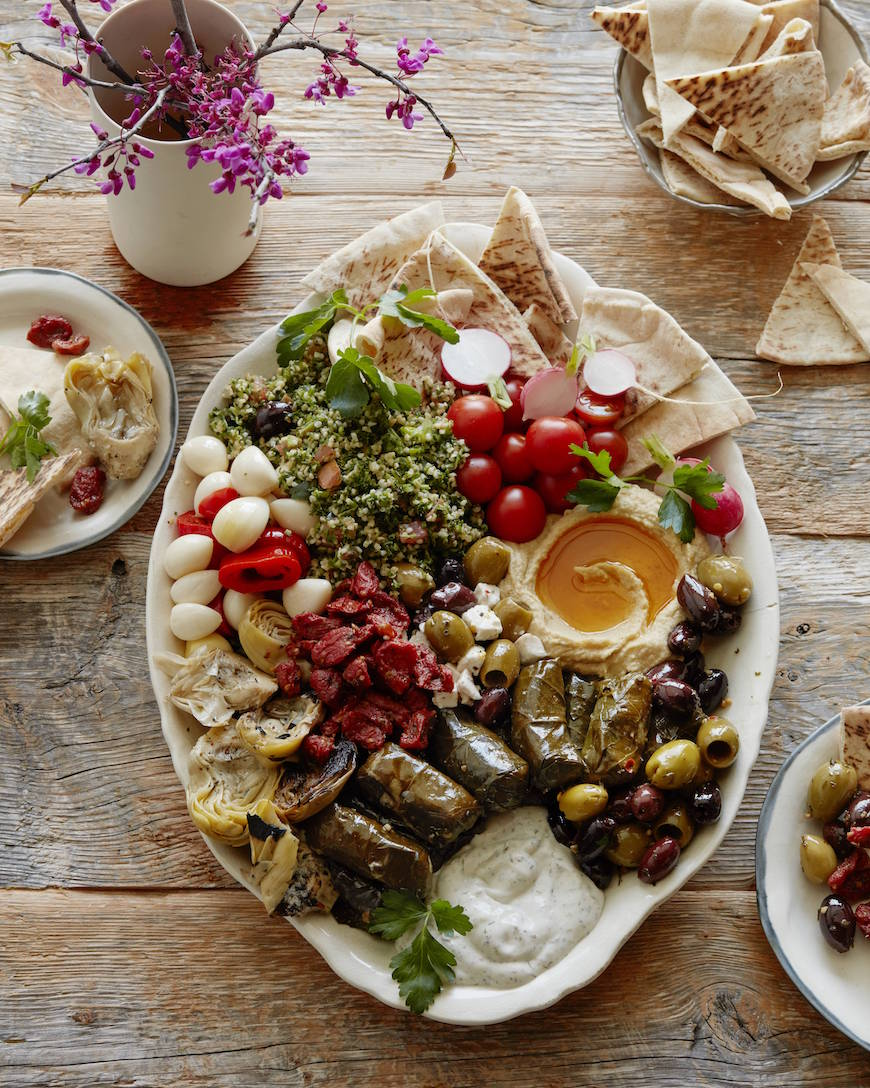 Mezze platter related keywords suggestions mezze Ina garten appetizer platter