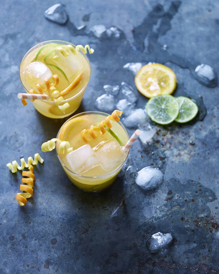 Sparkling Pineapple Spritz from www.whatsgabycooking.com (@whatsgabycookin)