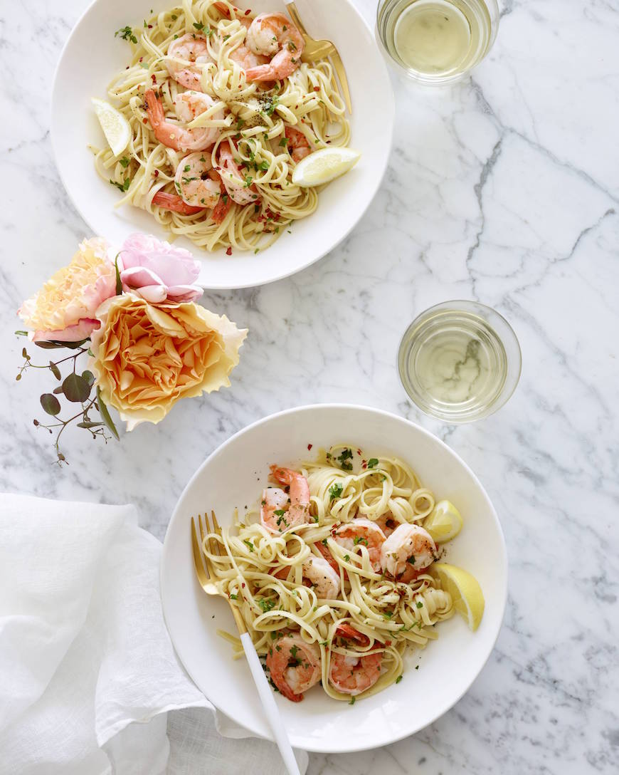 The Ultimate Garlic Shrimp Scampi from www.whatsgabycooking.com (@whatsgabycookin)