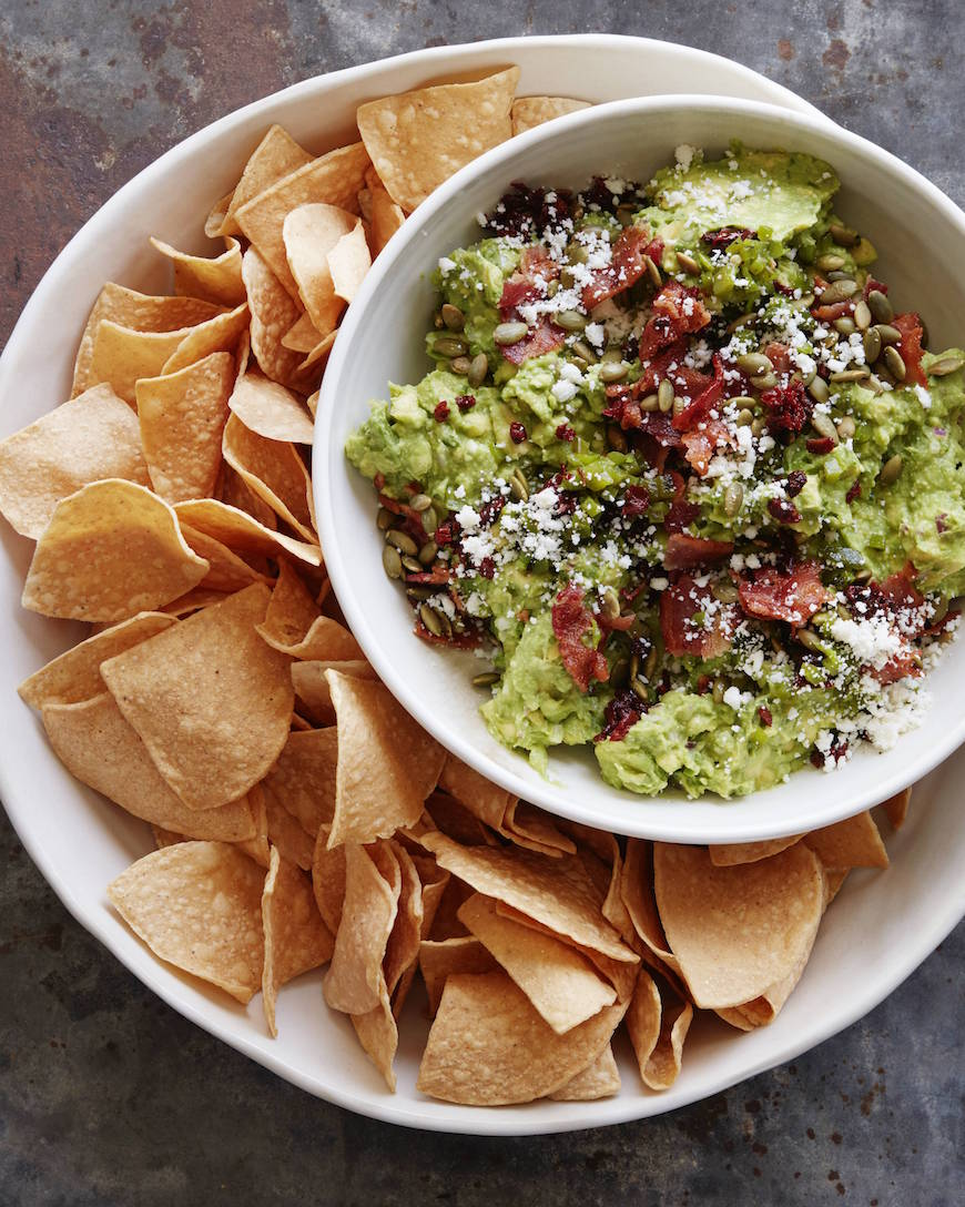 Loaded Guacamole from www.whatsgabycooking.com (@whatsgabycookin)
