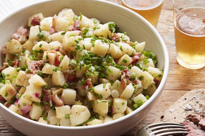 German Potato Salad from www.whatsgabycooking.com (@whatsgabycookin)