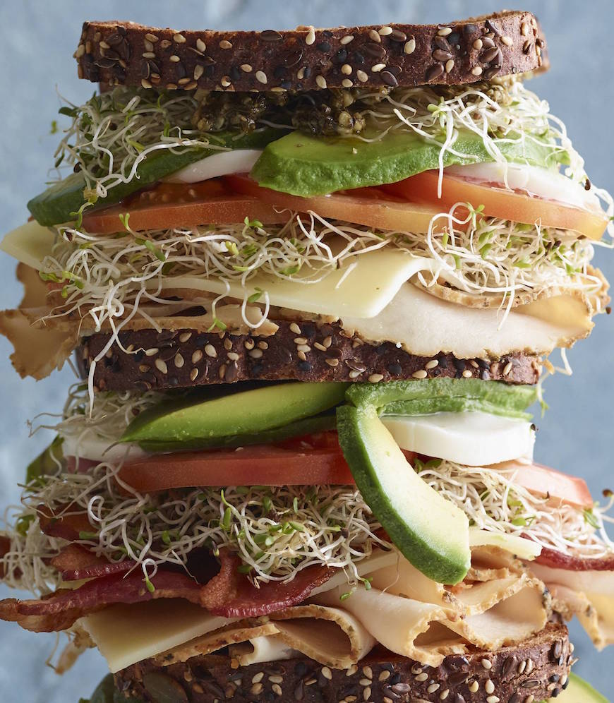 Triple Decker California Club from www.whatsgabycooking.com (@Whatsgabycookin)