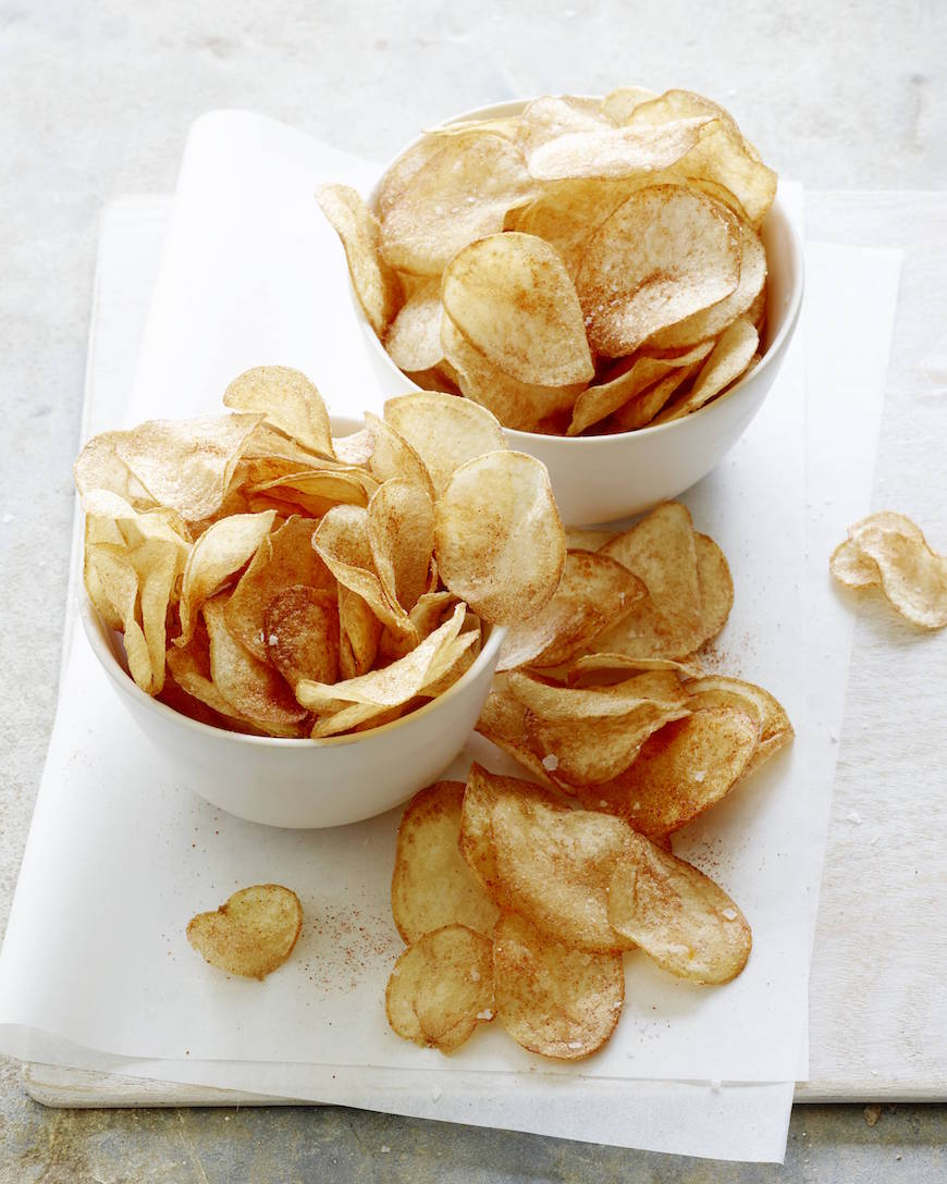 Homemade BBQ Potato Chips from www.whatsgabycooking.com (@whatsgabycookin)