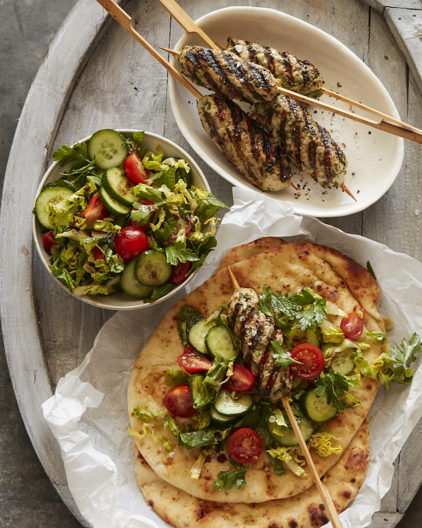 Chicken Kefta Wraps from www.whatsgabycooking.com (@whatsgabycookin)
