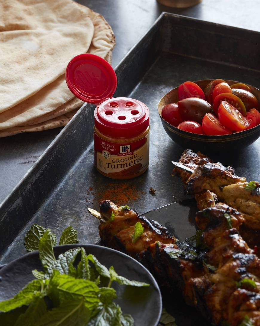 Moroccan Chicken Skewers from www.whatsgabycooking.com (@whatsgabycookin)