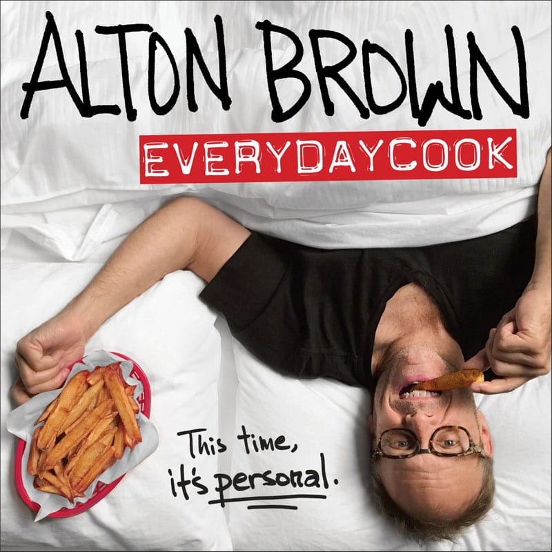 Alton Brown EveryDayCook / What's Gaby Cooking Cookbook Club