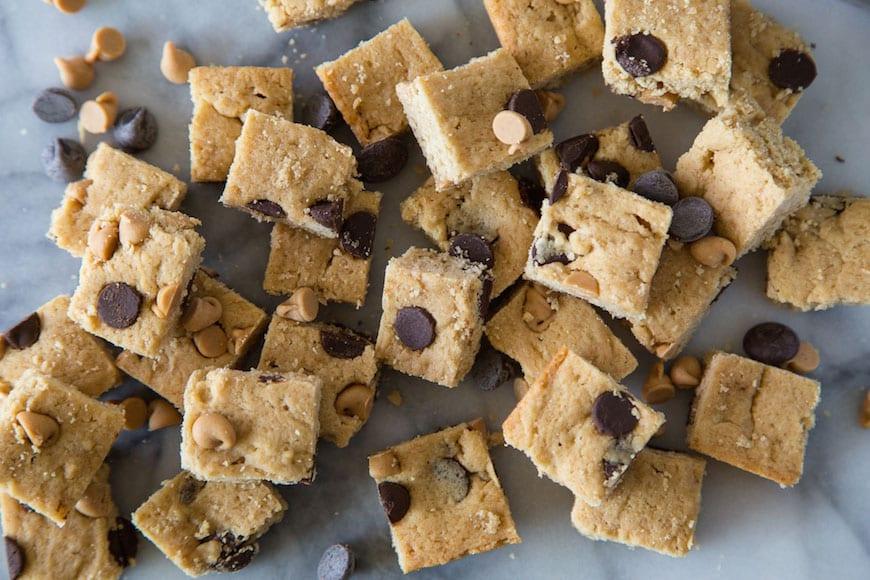 Brown Sugar Blondie Brownies