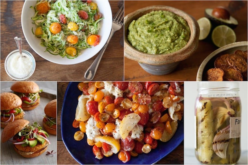 Vegetarian Cook-Out Menu