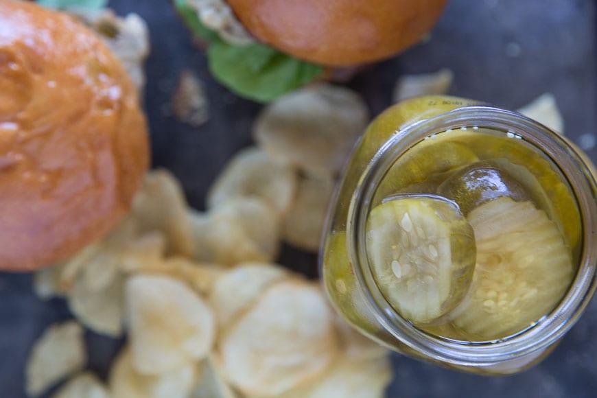 Fried Pickle Burger 2