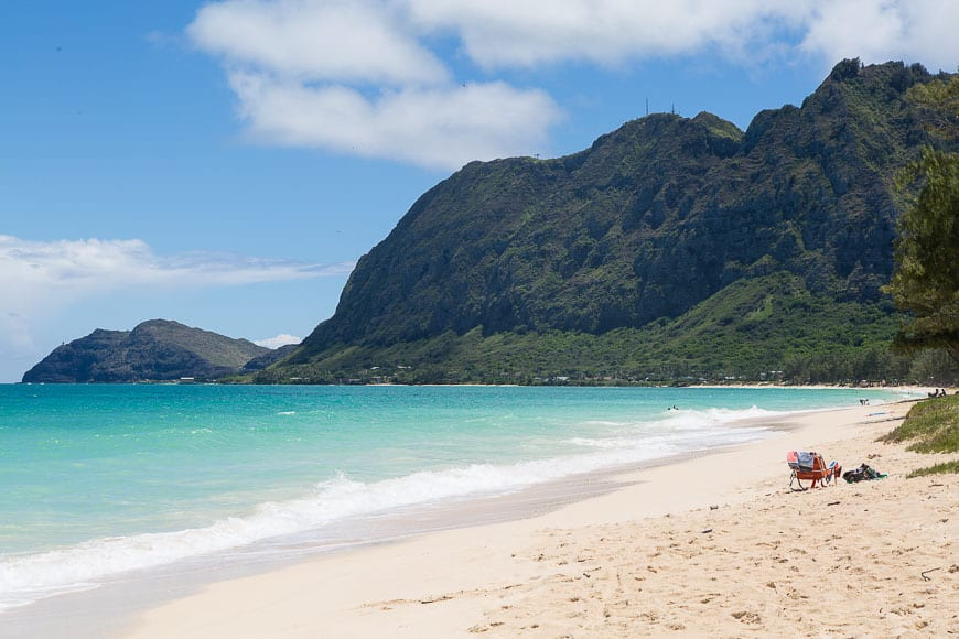 Waimanalo Beach // Gaby's Guide to Honolulu