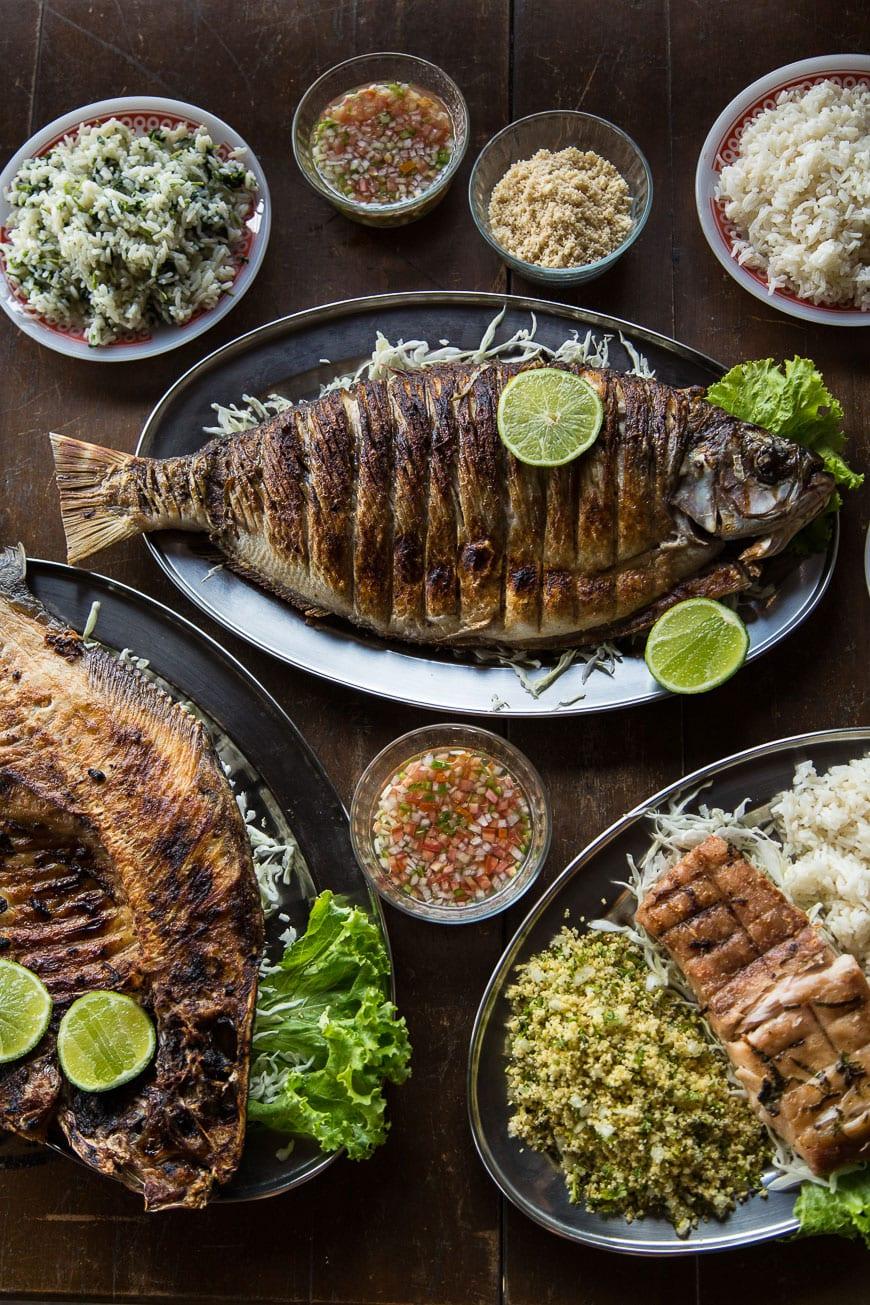 Traditional Lunch in Belém, Brazil