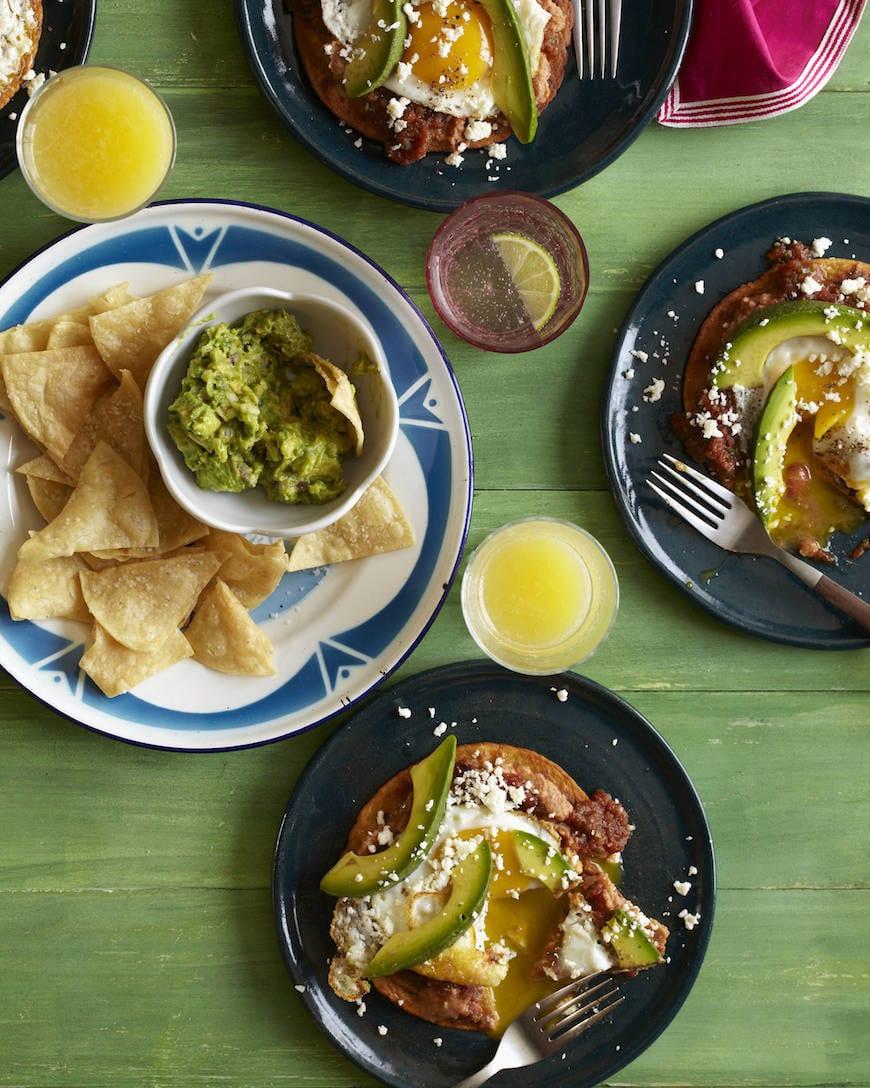 Huevos Rancheros with Avocado