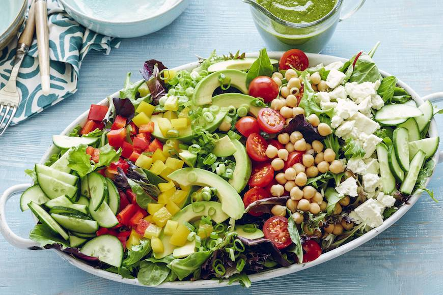 Loaded power salad whats gaby cooking power salad forumfinder Choice Image
