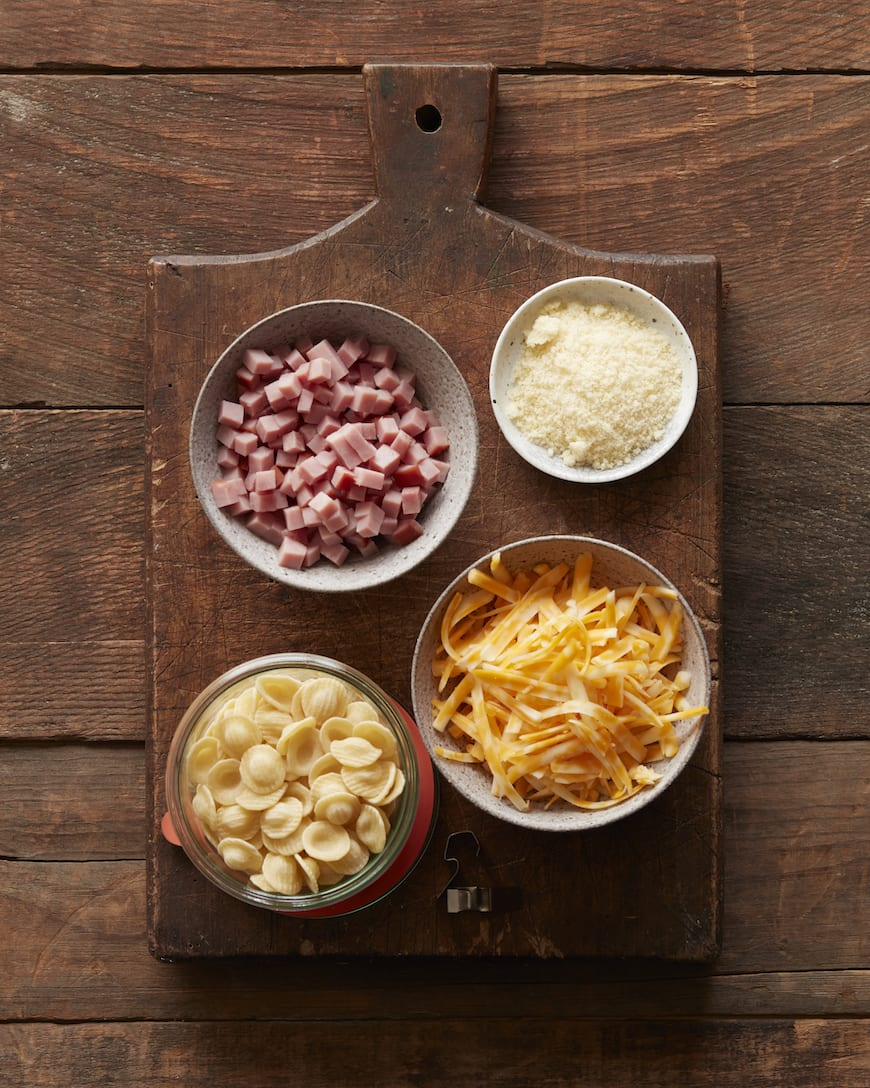 Schinkennudeln (Ham & Cheese Pasta) from www.whatsgabycooking.com (@whatsgabycookin)