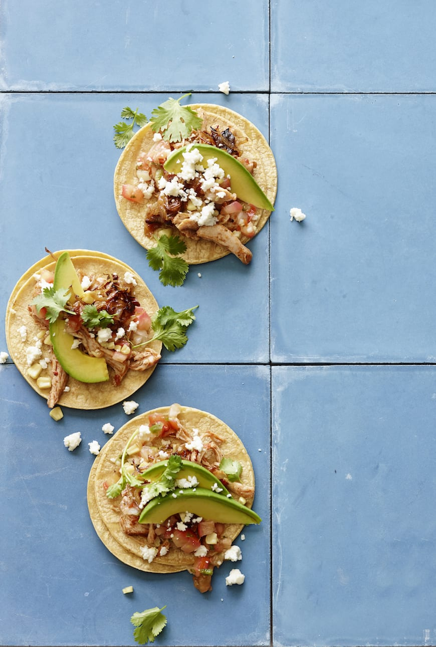 Slow cooker chicken tacos whats gaby cooking slow cooker chicken taco recipe forumfinder Choice Image