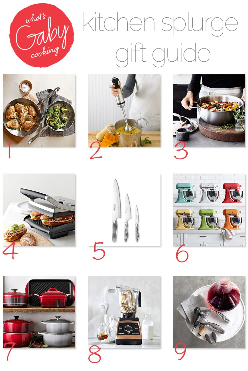 What's Gaby Cooking Gift Guide / Kitchen Splurges (from www.whatsgabycooking.com) @whatsgabycookin