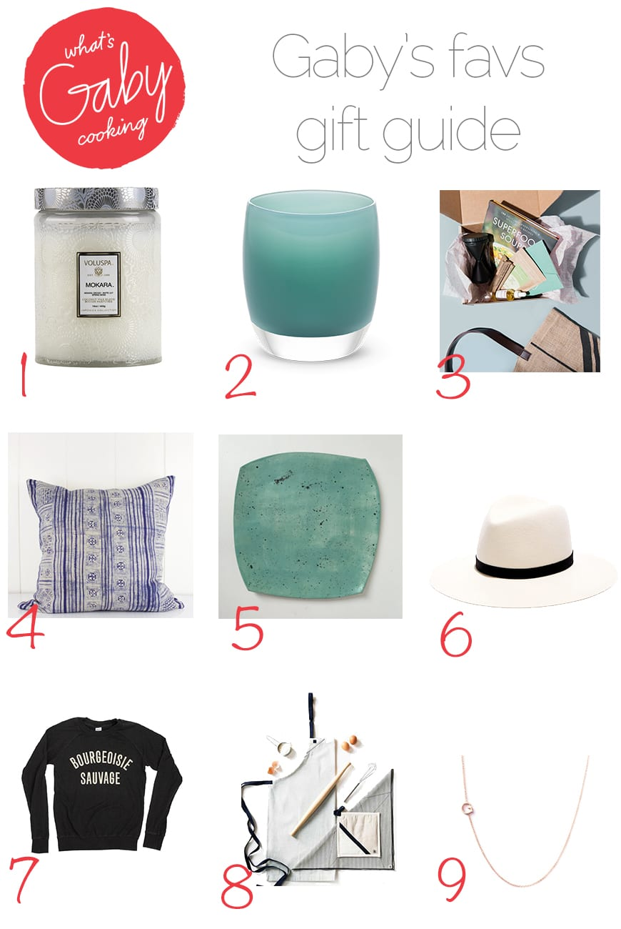 What's Gaby Cooking Gift Guide / Gaby's Favs (from www.whatsgabycooking.com) @whatsgabycookin