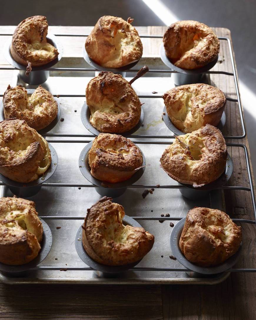 Herb and Cheese Popovers from www.whatsgabycooking.com (@whatsgabycookin)