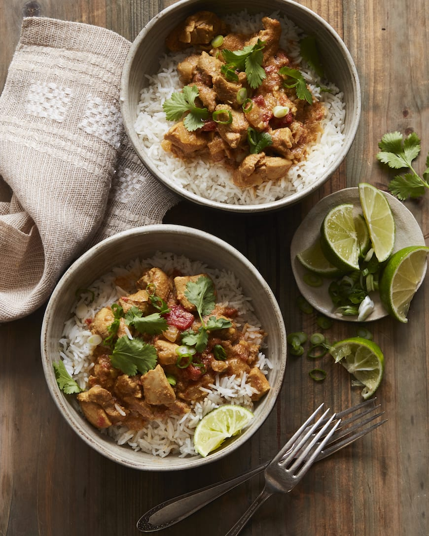 Thai Chicken Coconut Curry from www.whatsgabycooking.com (@whatsgabycookin)