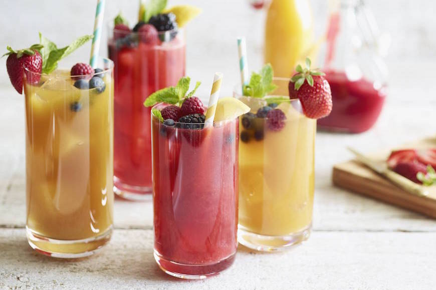Mango Raspberry Iced Tea