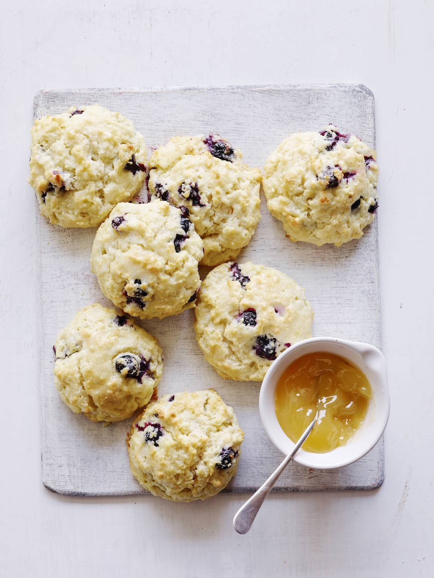 Blueberry Scones from www.whatsgabycooking.com (@whatsgabycookin)