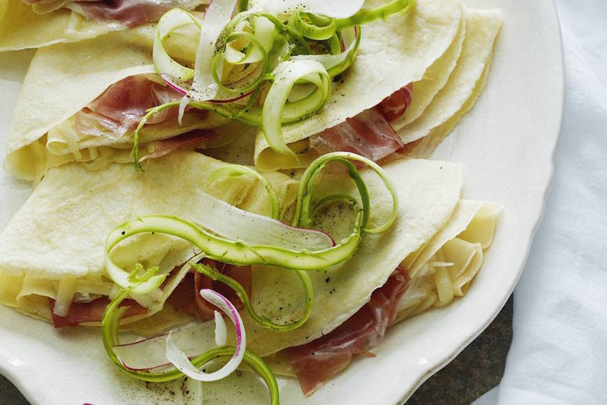 Ham-and-Cheese-Crepe