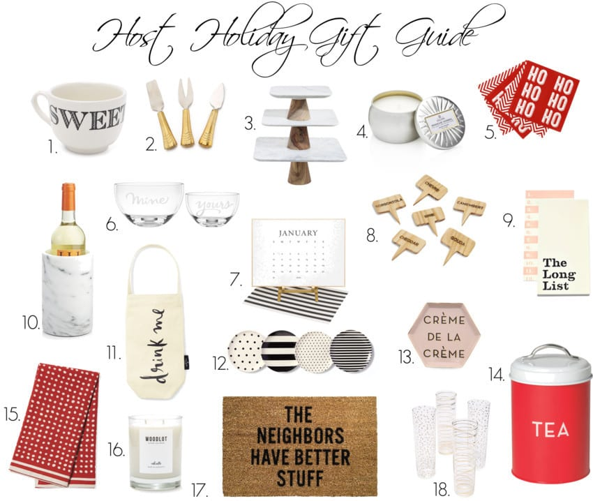 Host Holiday Gift Guide Final