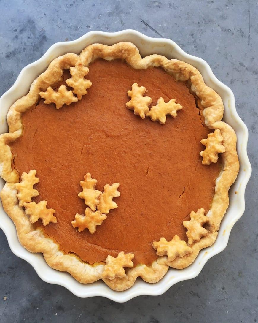 Sweetpotato Pie from www.whatsgabycooking.com (@whatsgabycookin)