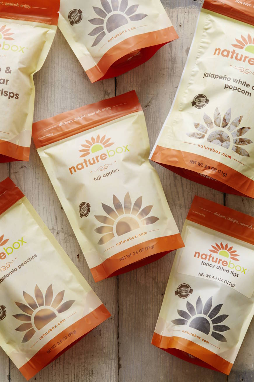 Traveling Snacks with Nature Box