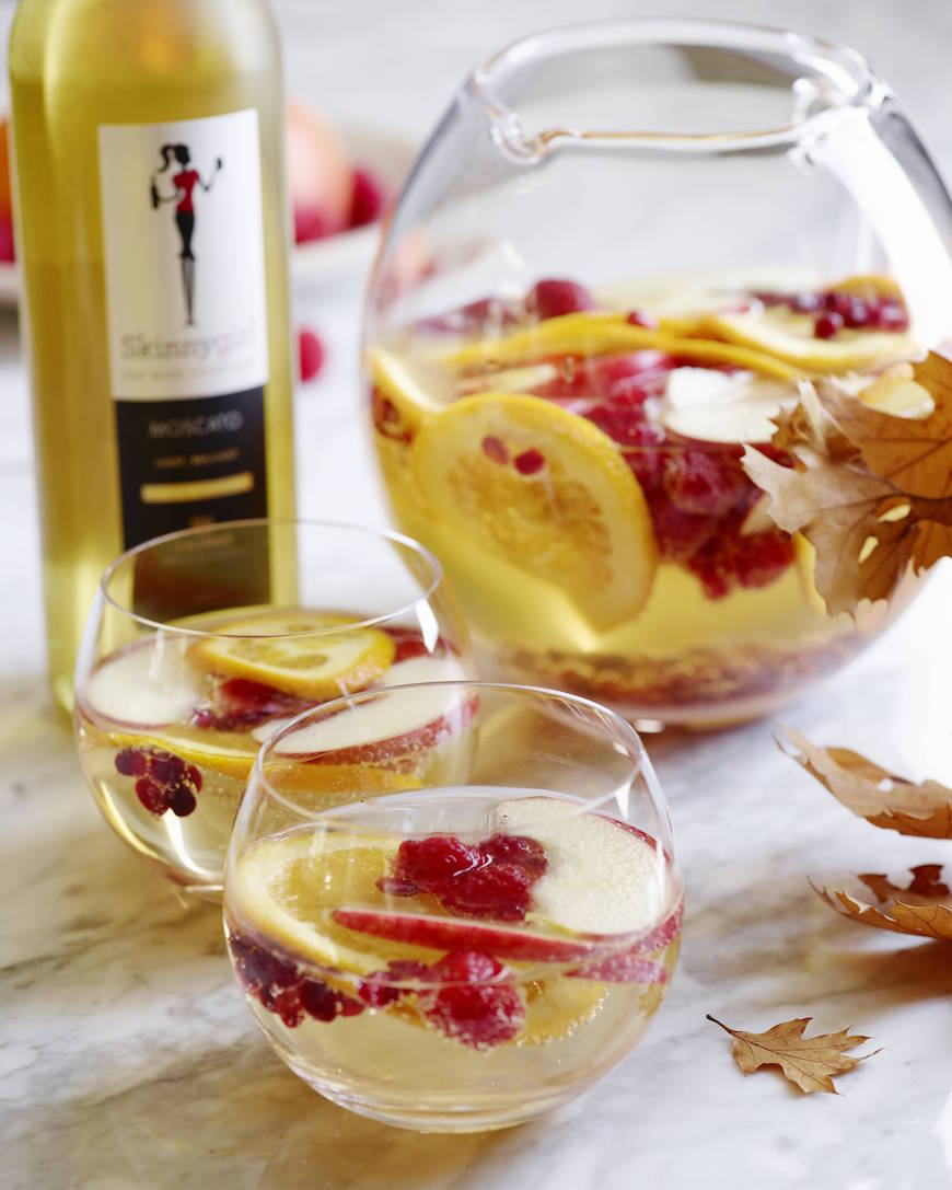 Moscato Punch from www.whatsgabycooking.com (@whatsgabycookin)