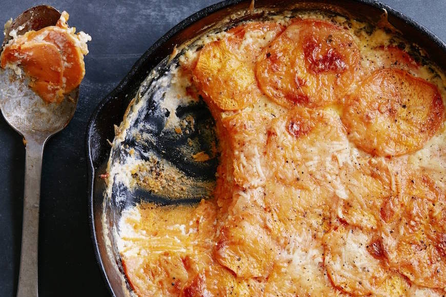 Sweetpotato Gratin
