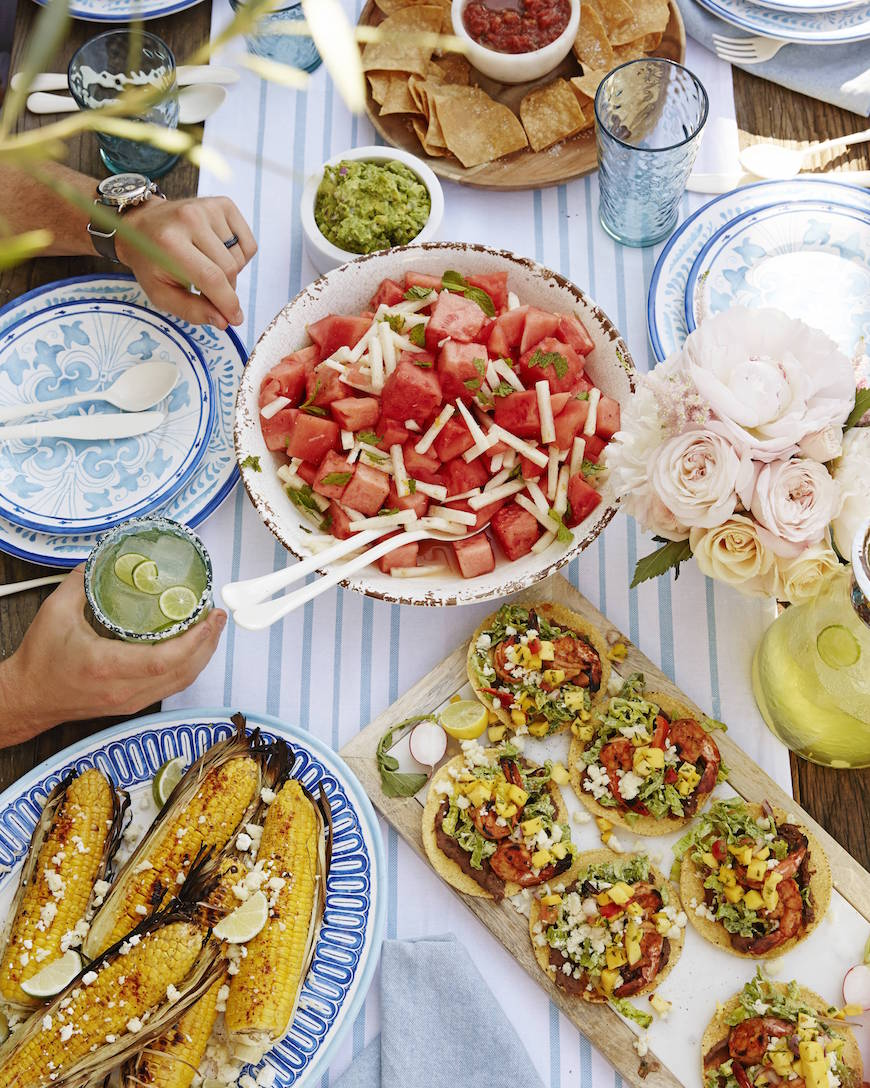 The ultimate menu for a West Coast Cantina party from www.whatsgabycooking.com (@whatsgabycookin)
