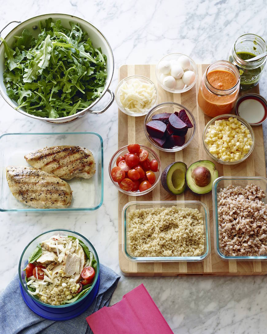 Lunch 101 / DIY Grain Bowls from www.whatsgabycooking.com (@whatsgabycookin)