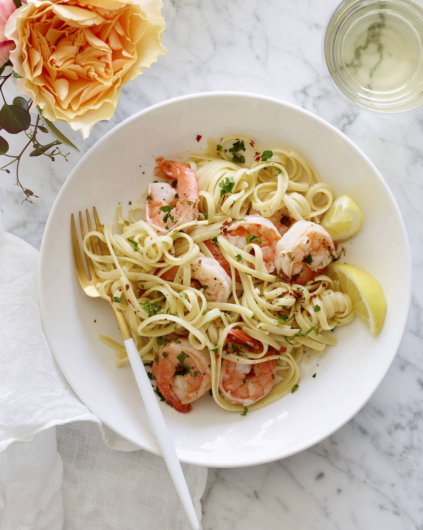 Garlic Shrimp Scampi from www.whatsgabycooking.com (@whatsgabycookin)