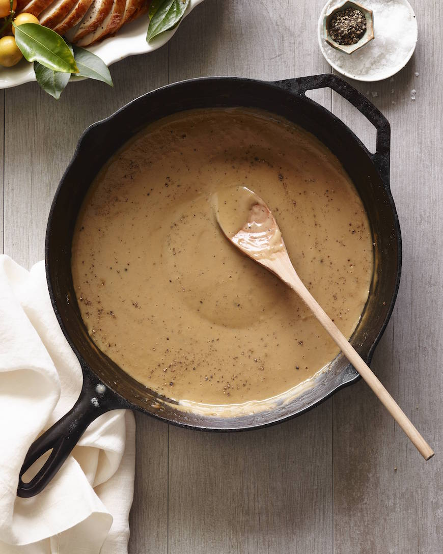 Homemade Turkey Gravy from www.whatsgabycooking.com hands down the best gravy for Thanksgiving! (@whatsgabycookin)