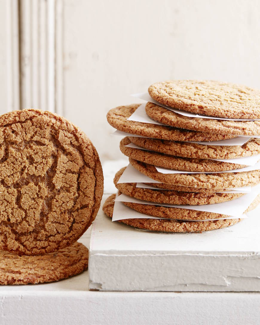Molasses Cookies from www.whatsgabycooking.com (@whatsgabycookin)