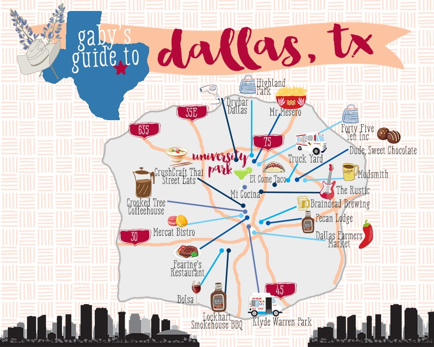 gaby's guide to dallas