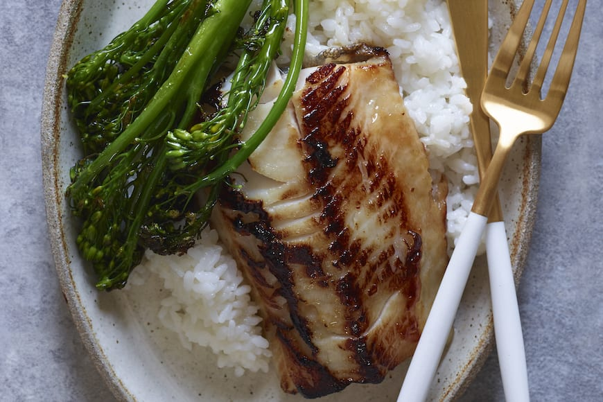 Miso Marinated Black Cod