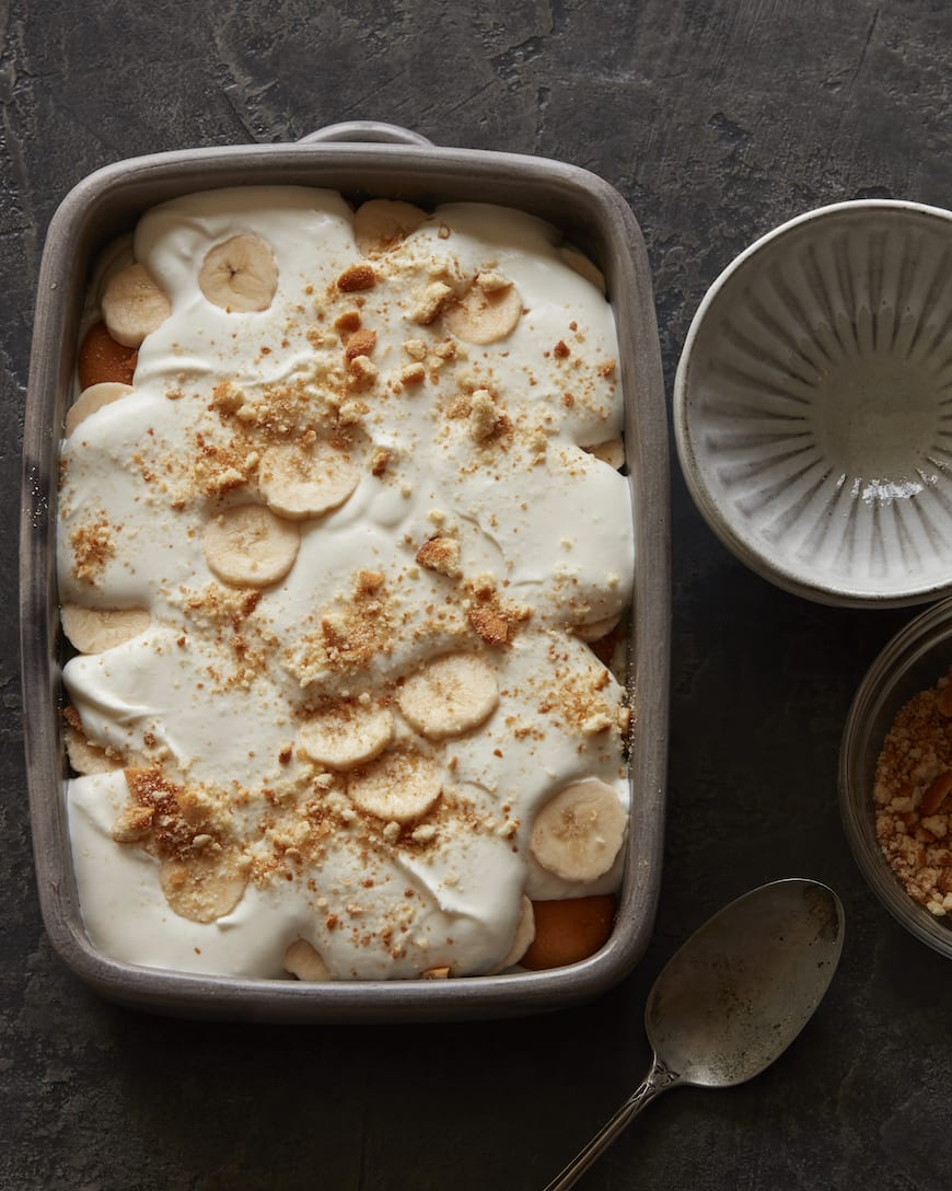 Banana Pudding Pie from www.whatsgabycooking.com (@whatsgabycookin)