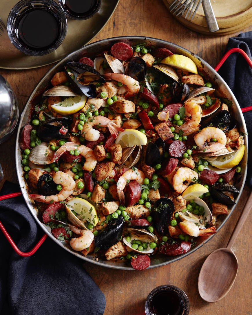 Spanish paella recipe spanish paella from whatsgabycooking whatsgabycookin forumfinder