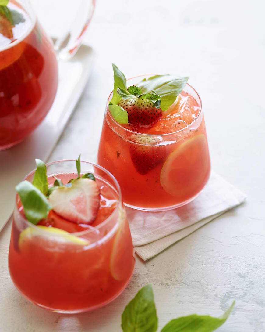 ... Strawberry Basil Lemonade? It's happening – you guys will love it