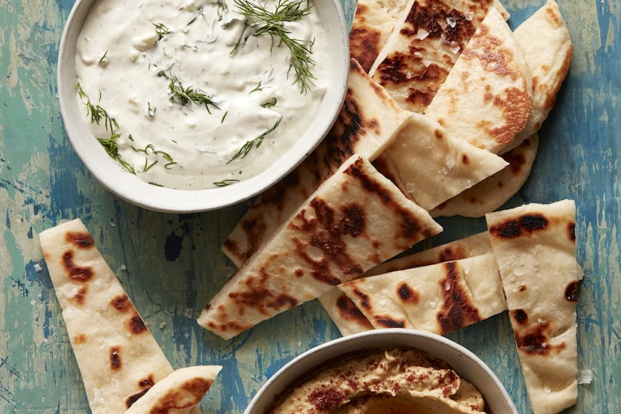 Homemade Naan from www.whatsgabycooking.com (@whatsgabycookin)