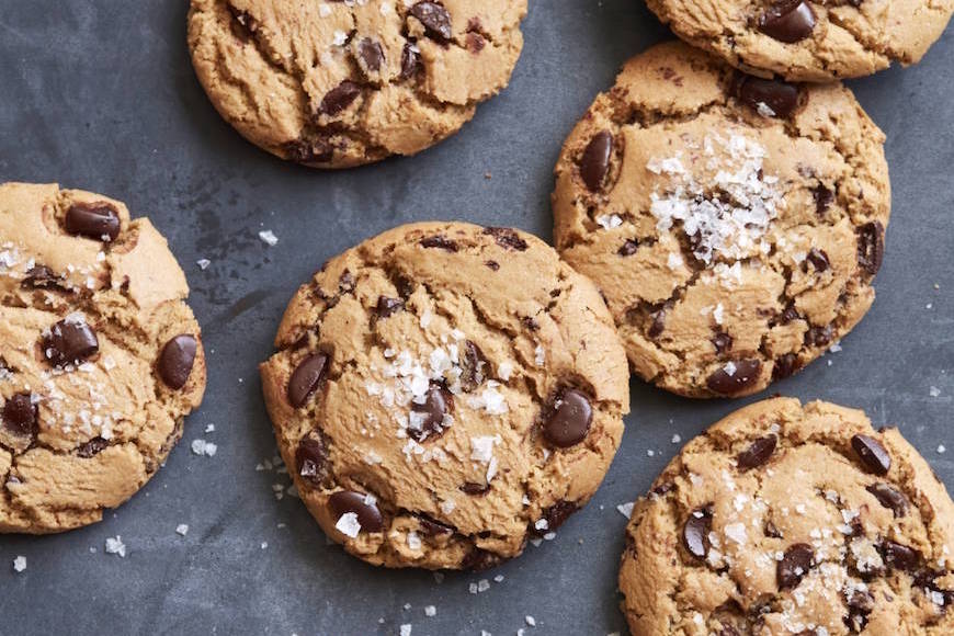 Truffled Chocolate Chip Cookies