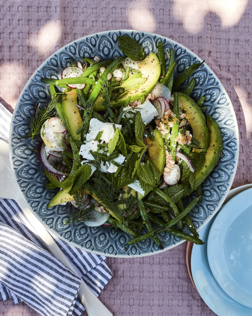Grilled Green Beans from www.whatsgabycooking.com (@whatsgabycookin)