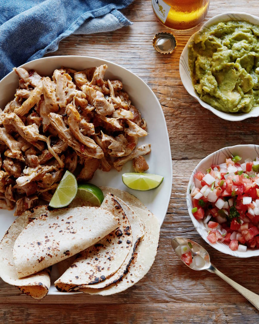 Easy Mexican Shredded Chicken from www.whatsgabycooking.com (@whatsgabycookin)