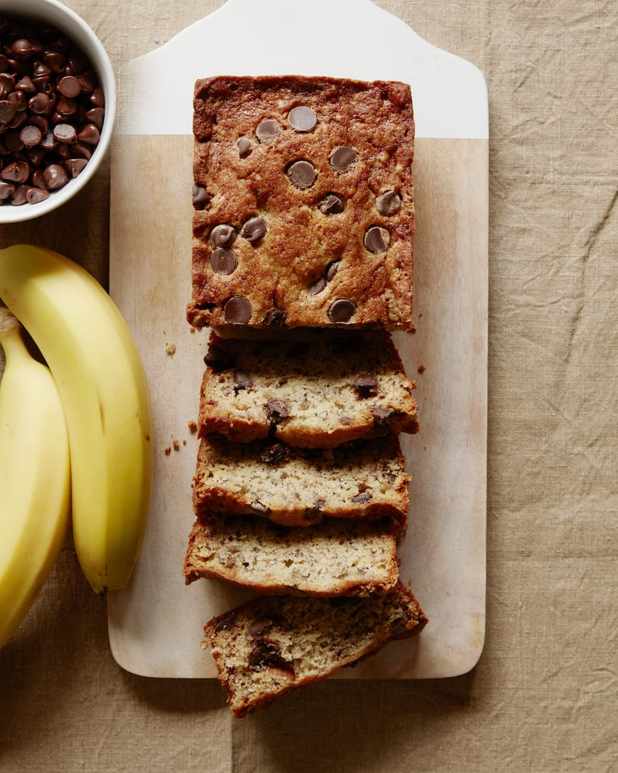 Chocolate Chip Banana Bread from www.whatsgabycooking.com (@Whatsgabycookin)