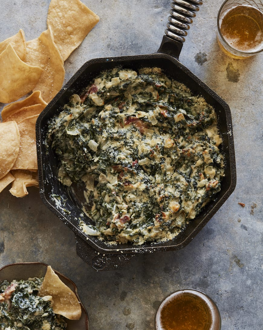 Hot Kale and Bacon Dip from www.whatsgabycooking.com (@whatsgabycookin)